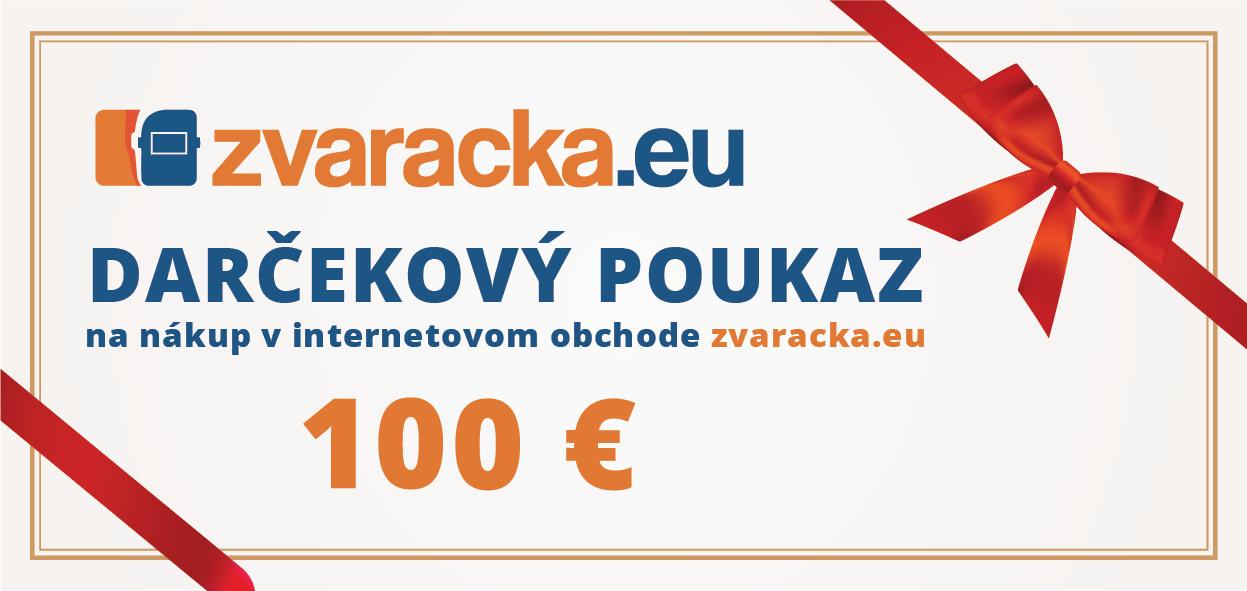 6e52cf76c Darčekový poukaz 100 EUR | Zvaracka